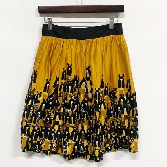 Anthropologie Dresses & Skirts - Anthro Edme & Esyllte Matriarch Asian Dolls Skirt